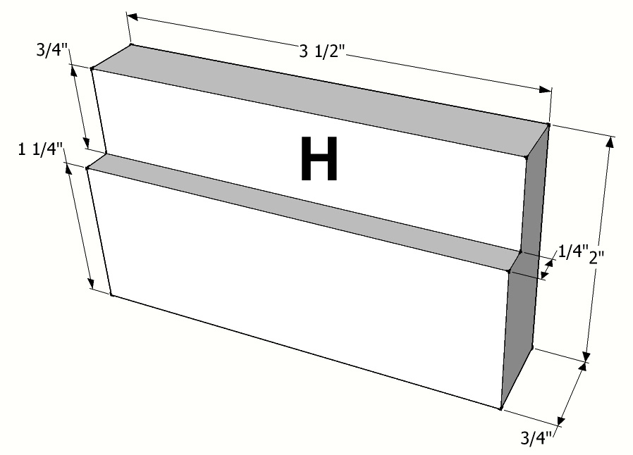 Picture of Part Dimensions