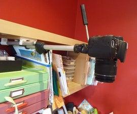 Overhead Camera Mount for YouTube Etc.