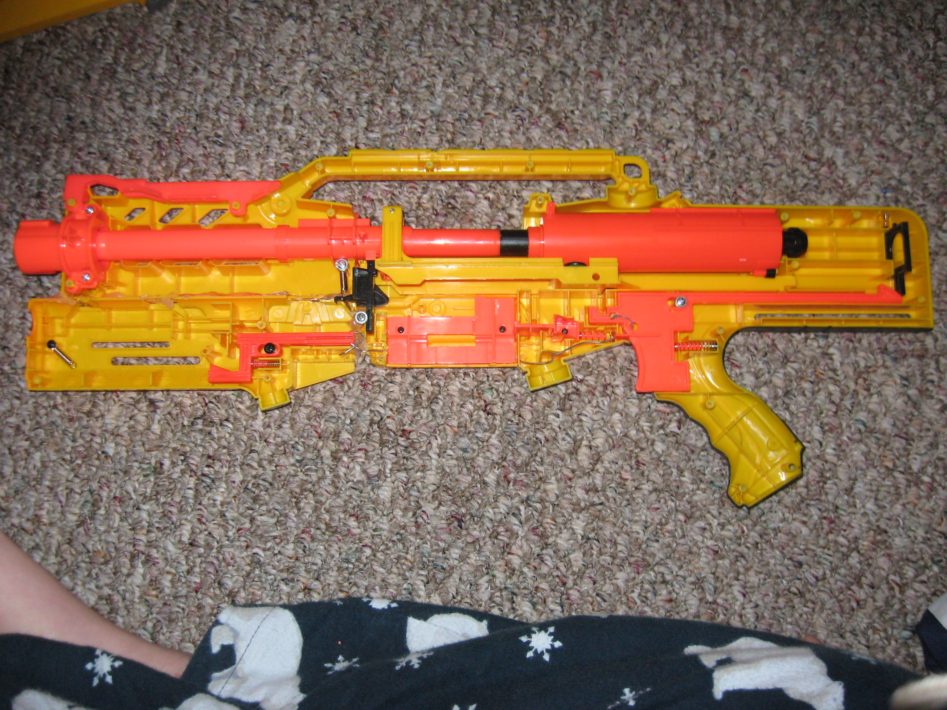 Picture of How to Make Your LongShot Shoot All Nerf Darts.
