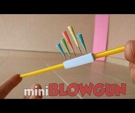 How to Make a Mini Blowgun