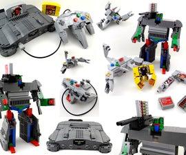 LEGO Nintendo 64 Transformers
