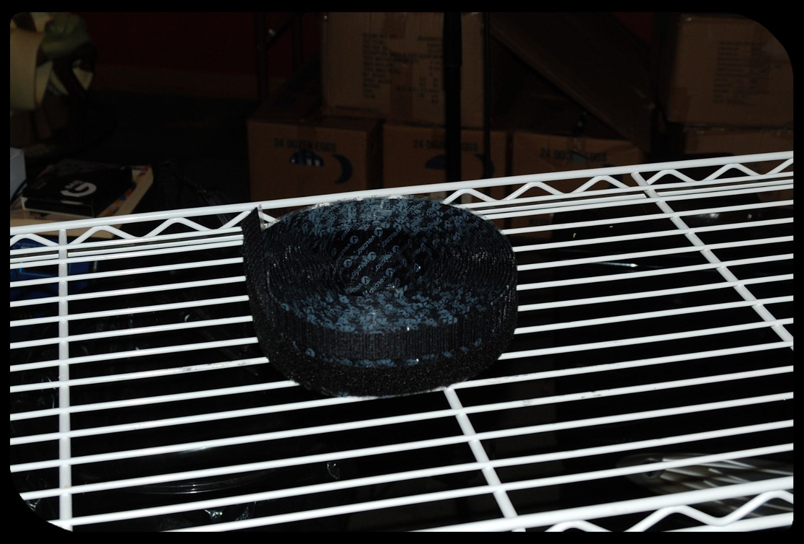 Picture of The Basic Hydroponics Setup Part 3 - Reflective Covering - the Side Mounting Tape