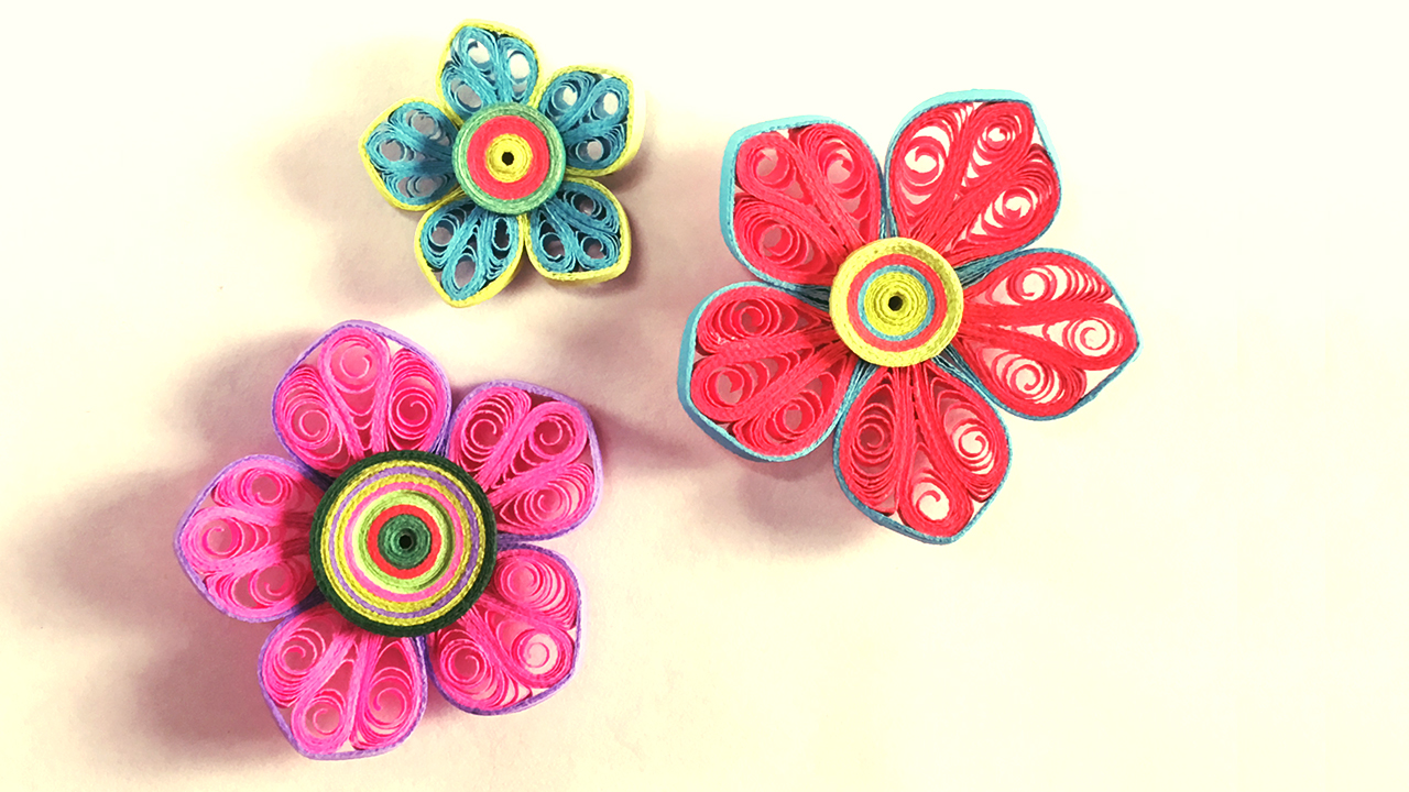 How to make beautiful flower design using paper art quilling paper picture of how to make beautiful flower design using paper art quilling paper quilling art mightylinksfo
