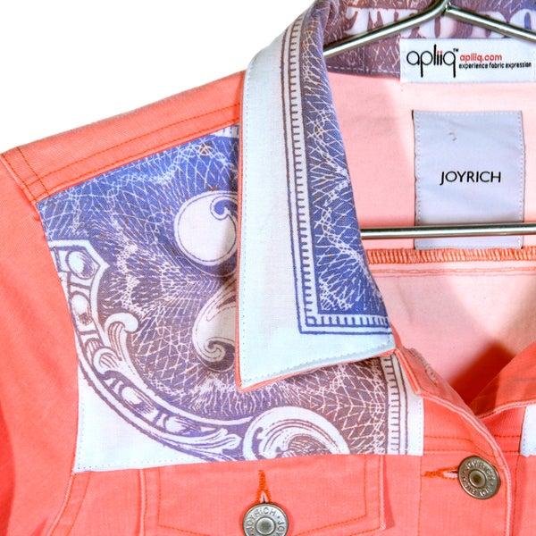 Appliqué Inkodye Jacket