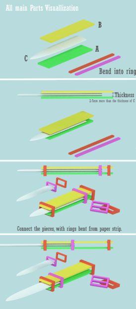 Picture of Part 1: Hidden Blade Mechanism