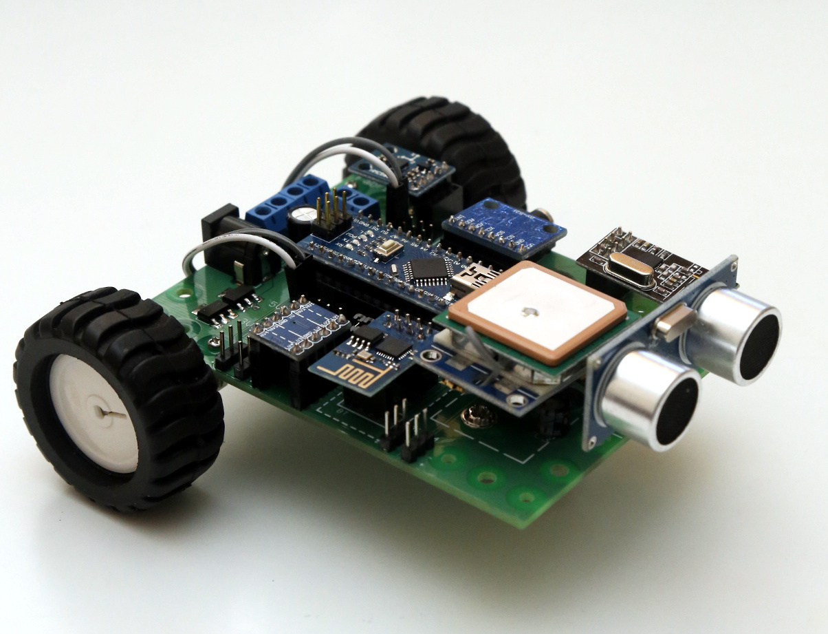 Picture of Arduino Robot That Avoids Human