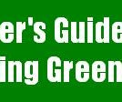 Going Green! A couple things you can do to help the environment.