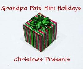 Making Mini Christmas Presents