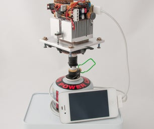 Smartphone Charger Powered by Fire