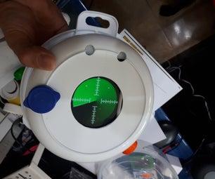 Radar Detector De Monstruos