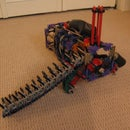 New K'nex Machine Gun Type