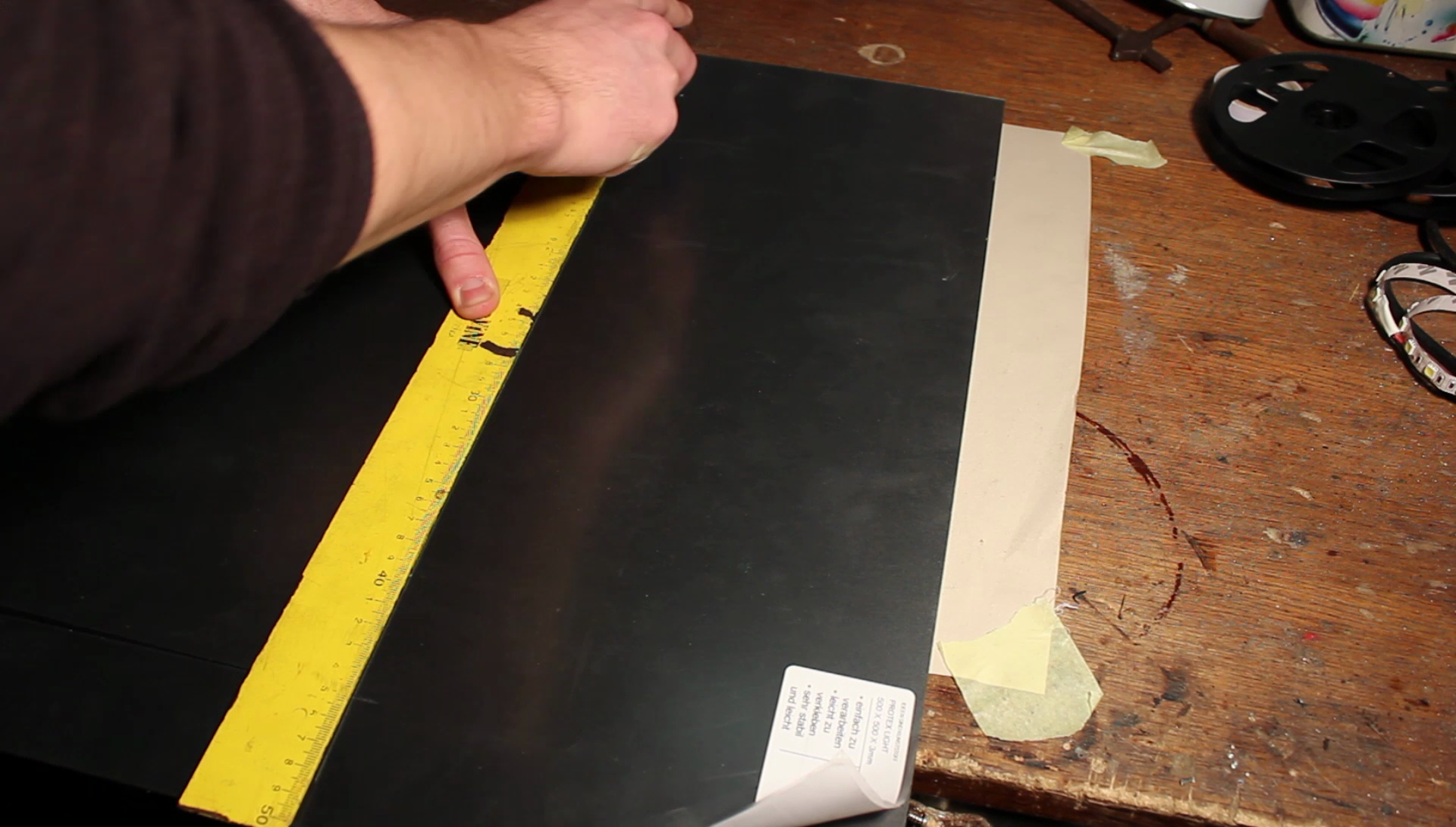 Picture of Cutting Strips...