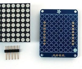 Custom Character Generator (Adafruit HT16k33 Matrix)