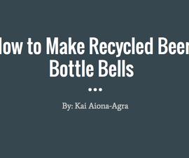 Recycled Beer Bottle Bells