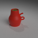 Token Teapot 3D Printed Planter