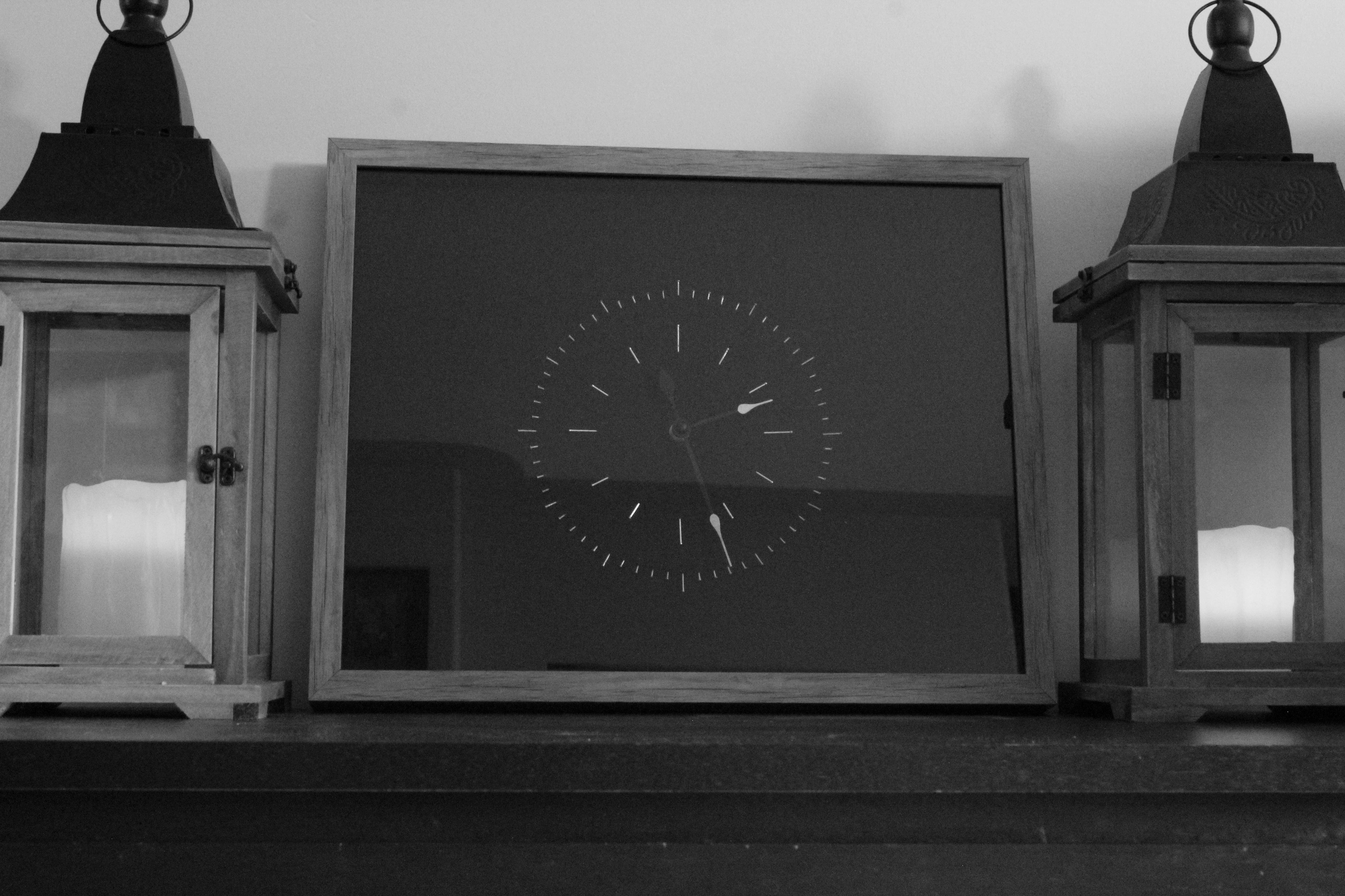 Picture of Shadowbox Clock