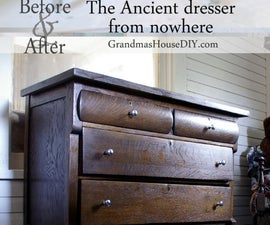 Before and After: the Ancient Dresser From Nowhere