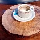Hot Plate Wood Slice