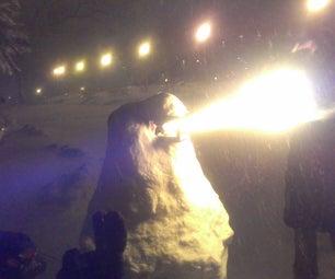 RC Fire-Breathing Snowman!