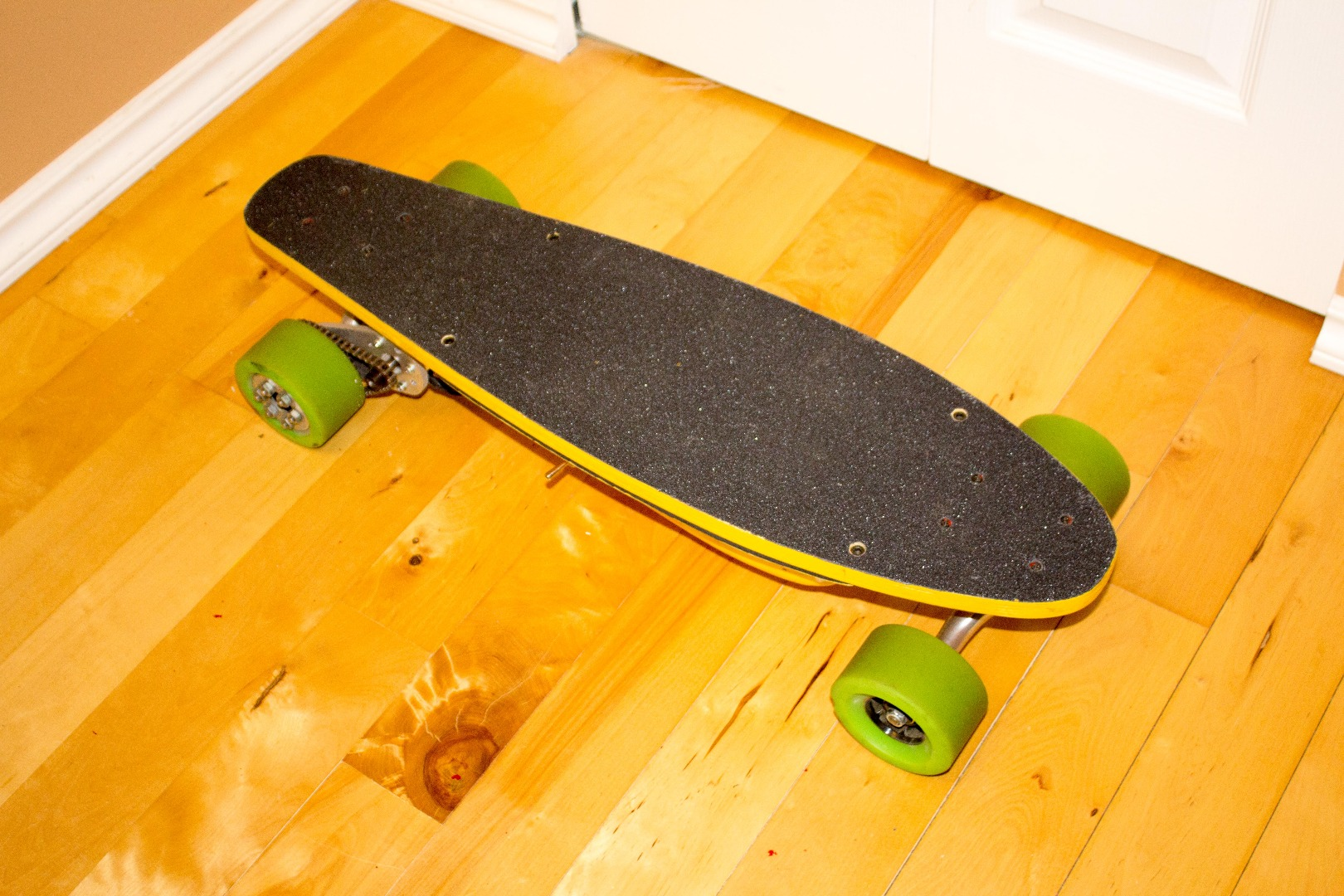 Picture of Electric Skateboard V4.0: the Banana Board