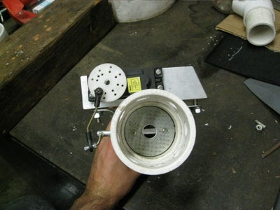 Air Intake With Butterfly Valve