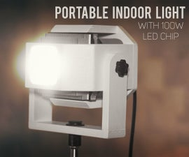 Portable Indoor Light With 100W LED Chip