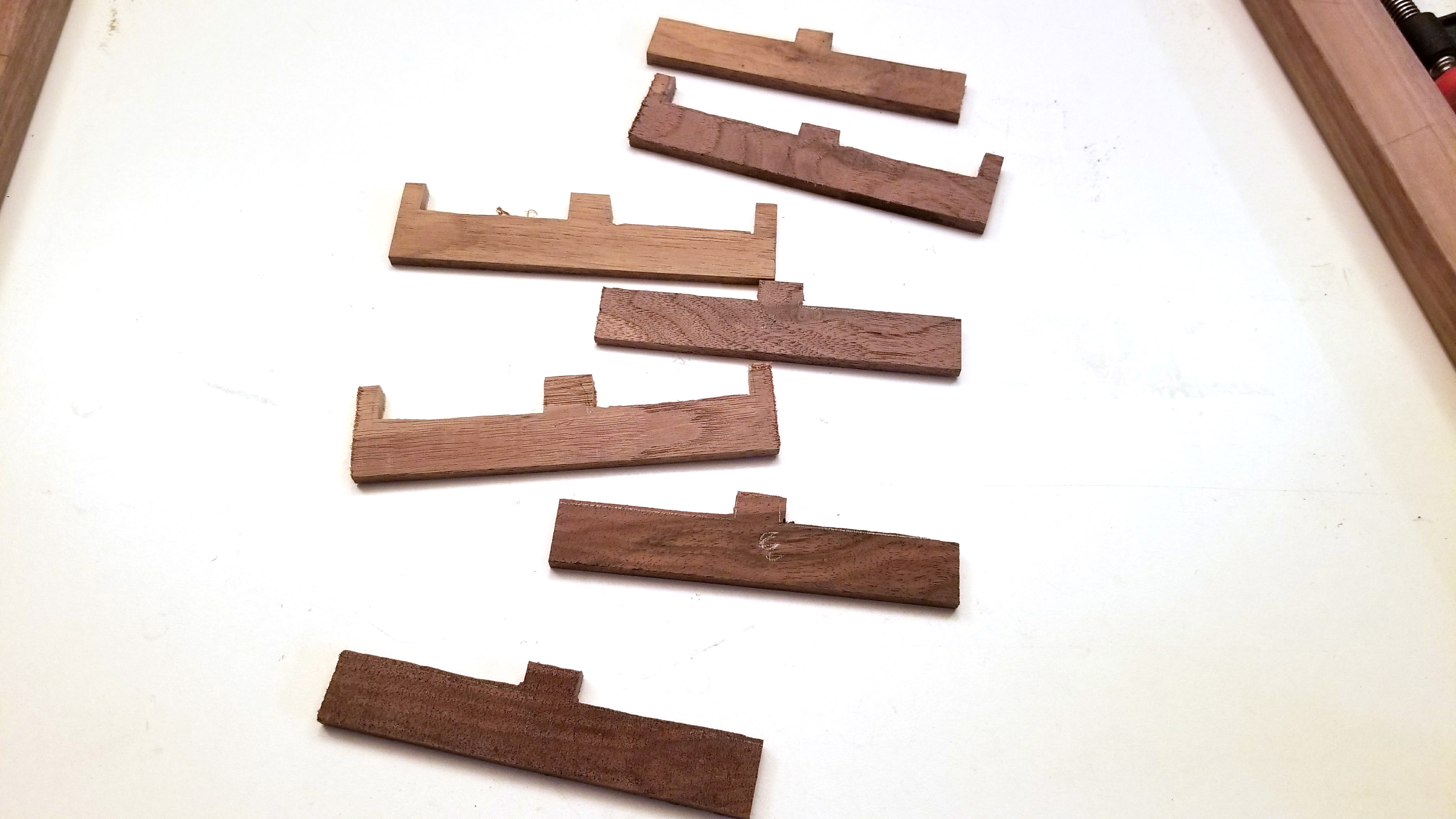 Picture of Cap Ends of Track Pieces
