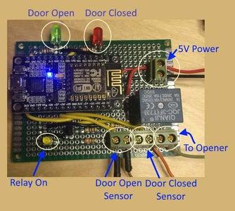 Garage Door Monitor