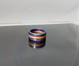 How to Make a Recycled Wooden Skateboard Ring With Simple Tools