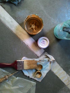 Brushing Oil Paint
