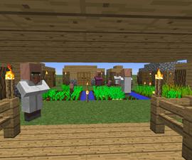 Minecraft village