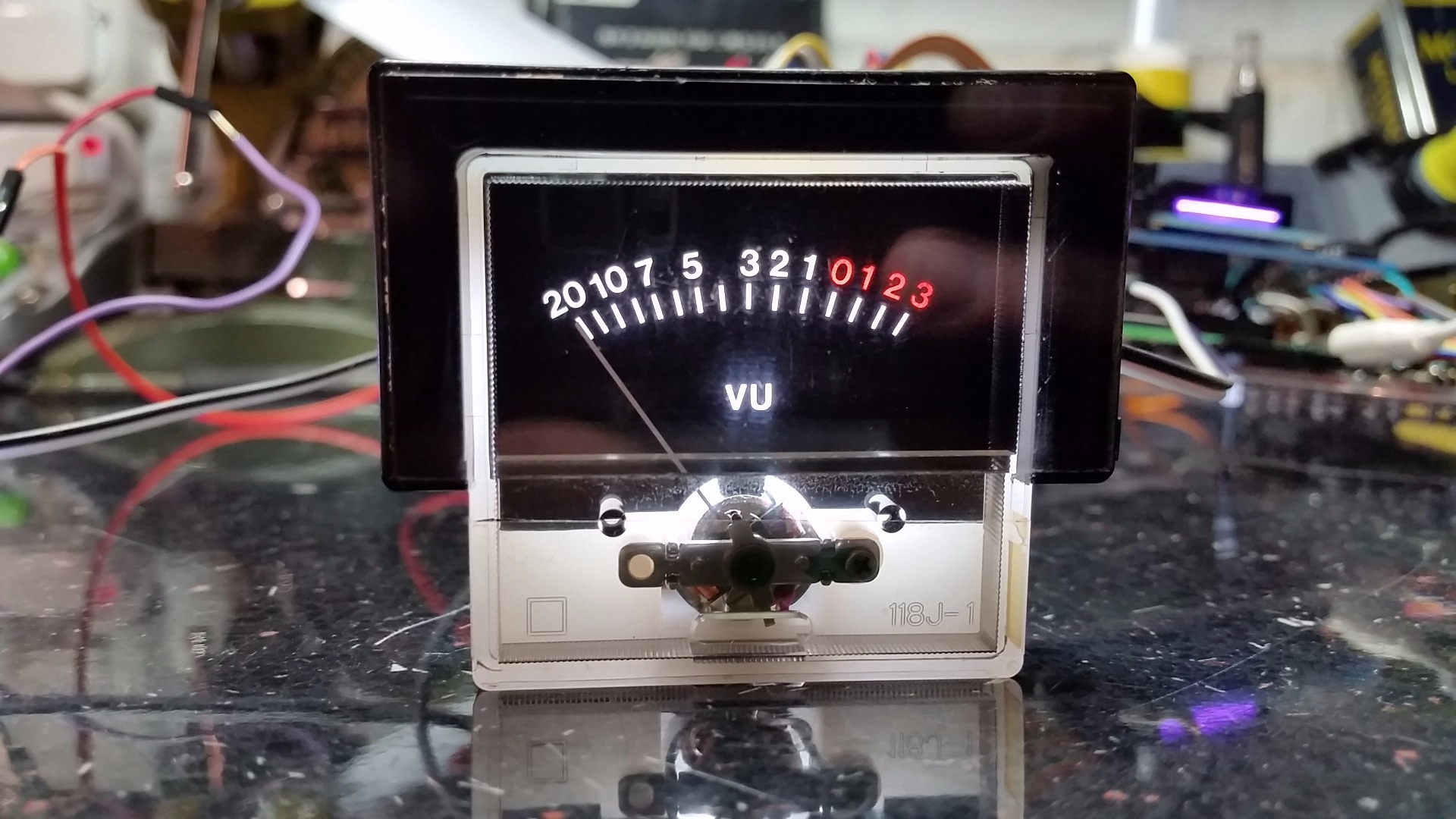 Picture of The VU Meters