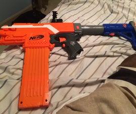 Nerf Submachine Gun
