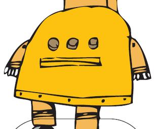 Robot Cutout Contest Entries