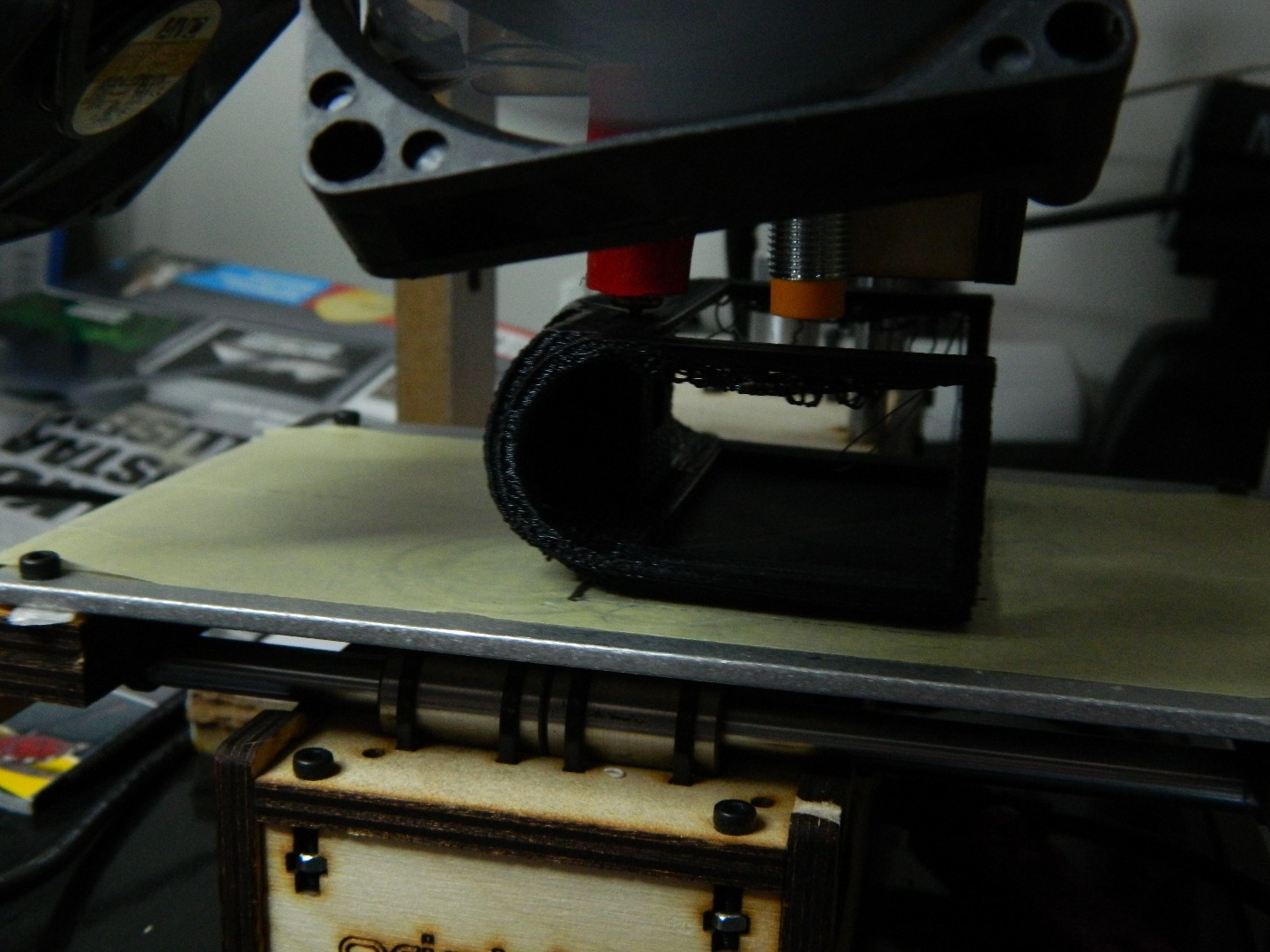 Picture of Printing the Parts.
