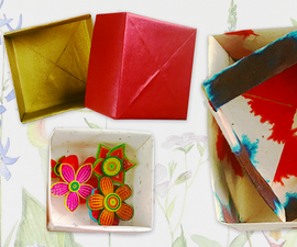 Origami Box | DIY Valentine's Day Gift Ideas for Him + Her