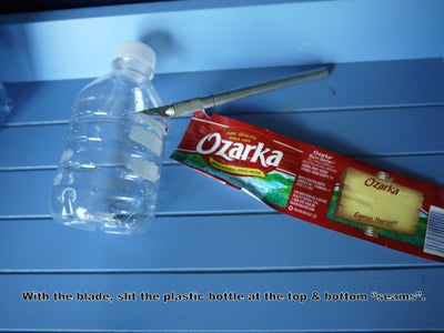 Upcycle a Water Bottle