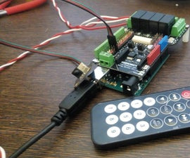IR Home Automation on DFRobot's Relay Shield