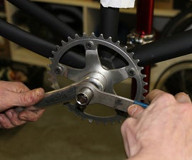 Converting a Mountain Bike to a Single Speed Bike.