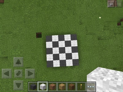 Build a Grey and White Checkerboard