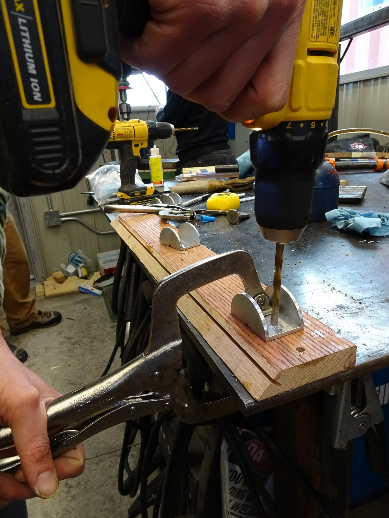 Picture of Sled Mounting Brackets