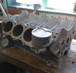 Attaching the Pistons