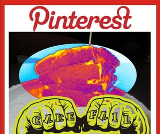Checkerboard Rainbow Cake (Pinterest Fail)