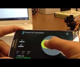 Controlling Servos via Bluetooth (RN-42) and LabVIEW