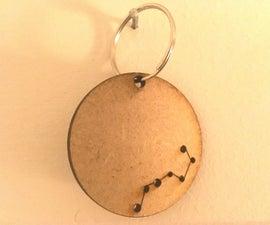 Constellation Keychain