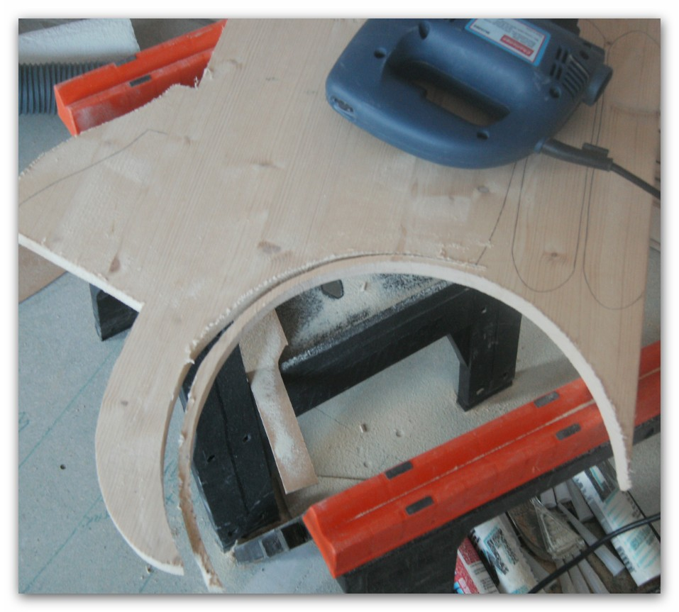 Picture of Laying Out the Parts