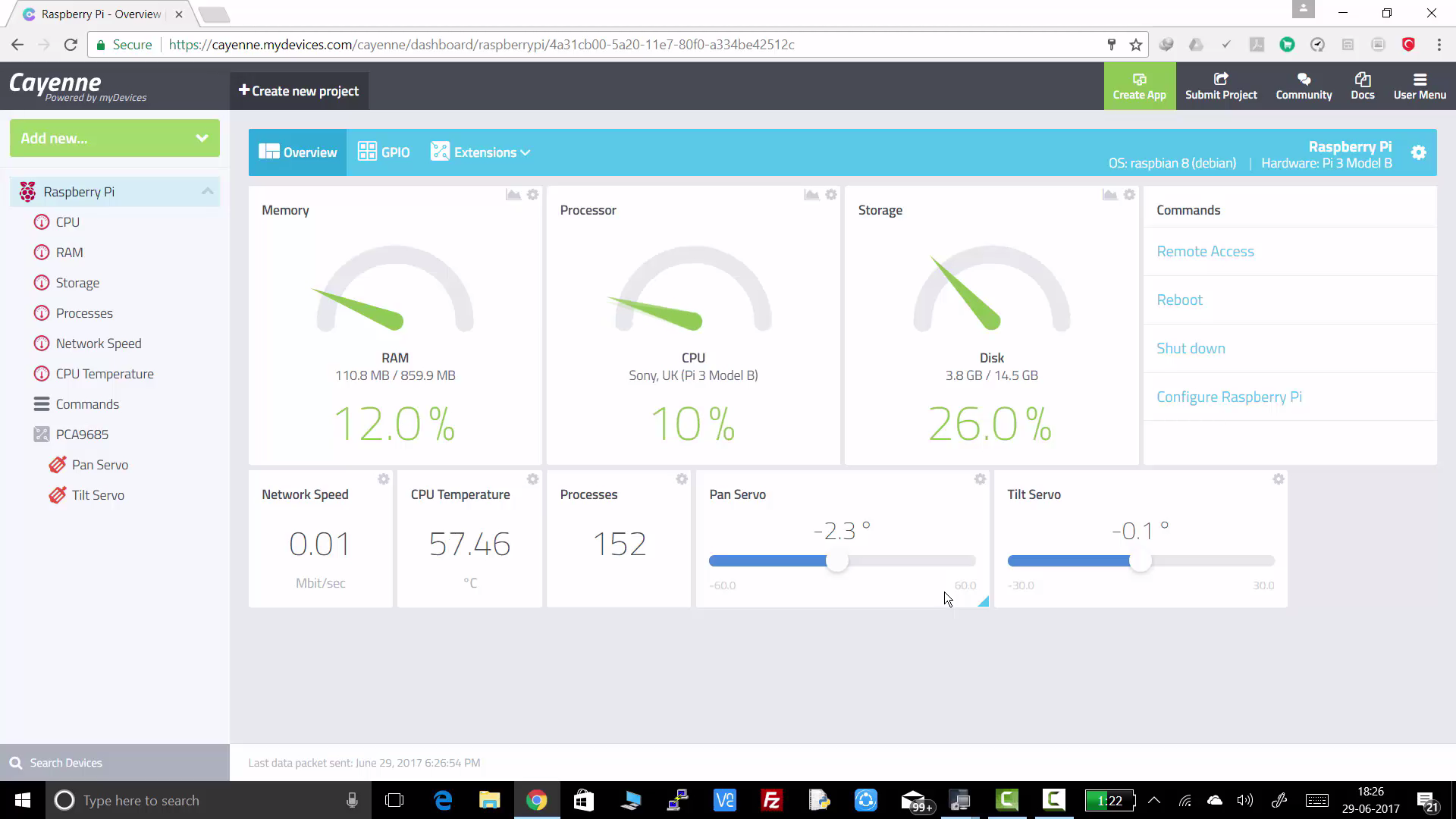 Picture of Modify Cayenne Dashboard