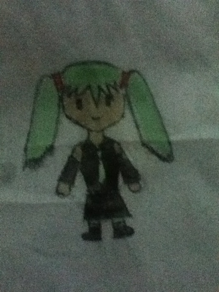 Picture of How to Draw : Hatsune Miku Chibi