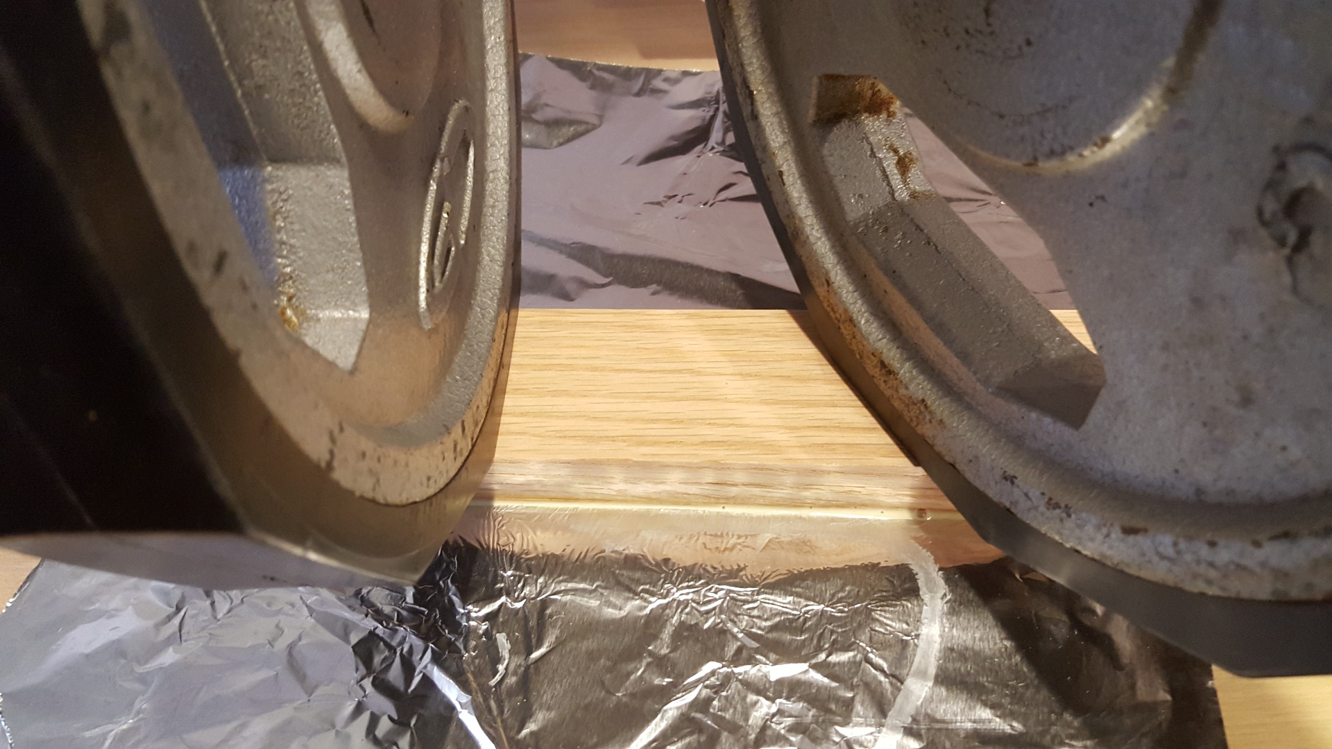 Picture of Attaching the Veneer