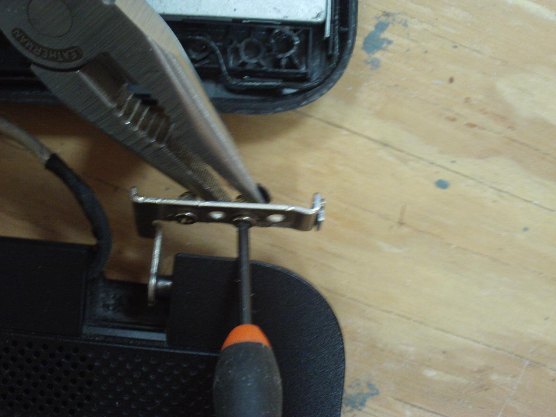 Picture of Remove Hinge Screws